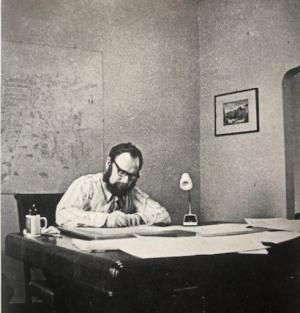 John Eaton in Rome